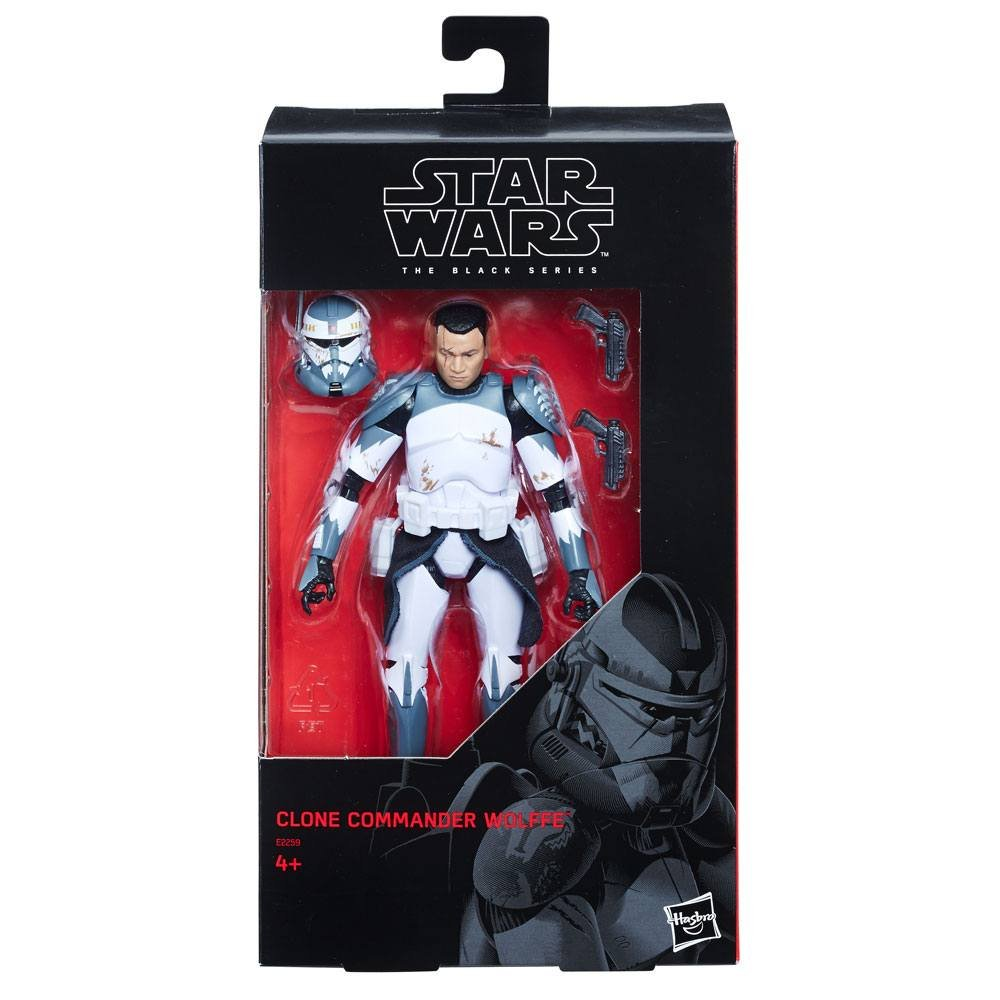 Hasbro Star Wars Black Series Action Figure 2018 Commander Wolffe Exclusive 15 cm E2259