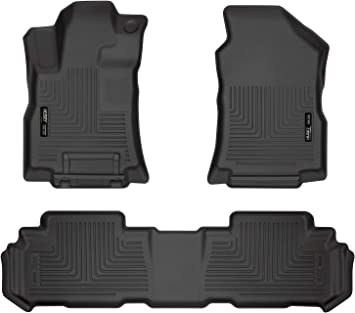 Husky Liners Fits 2019-20 Subaru Ascent Weatherbeater Front /& 2nd Seat Floor Mats