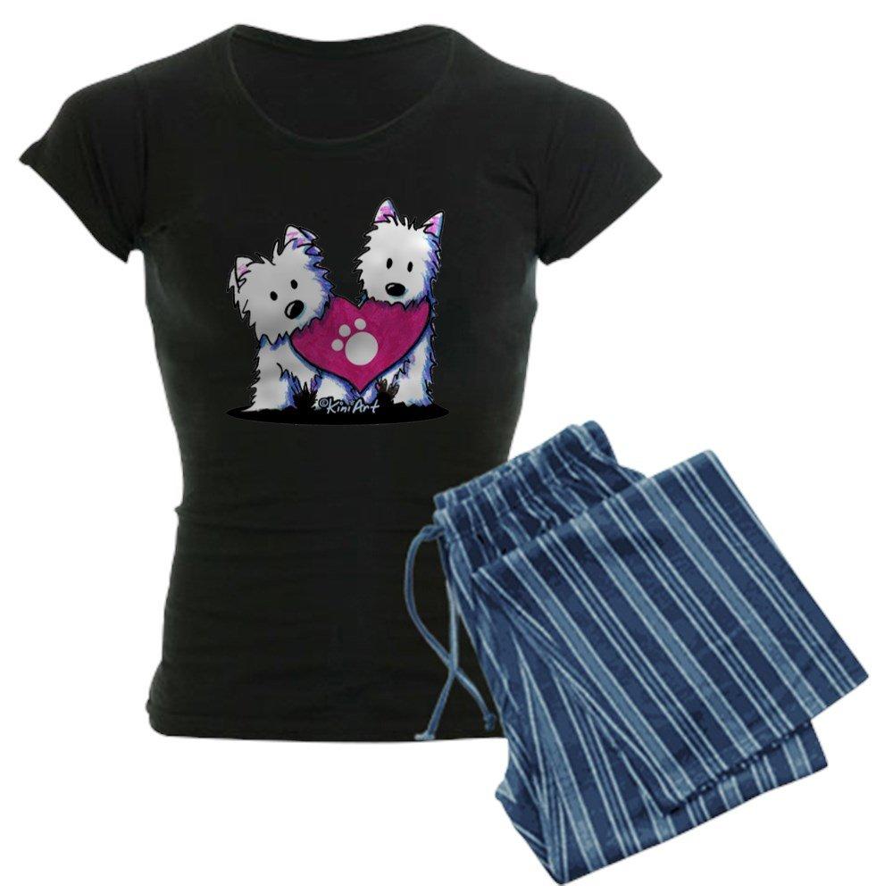 CafePress - Valentine Westies - Womens Pajama Set