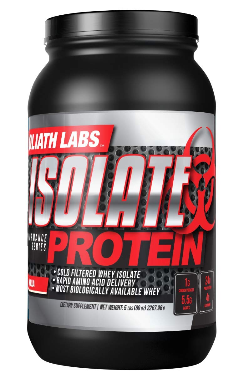 ♥ 20-Pound Isolate Vanilla Whey Protein Powder for Muscle Gain