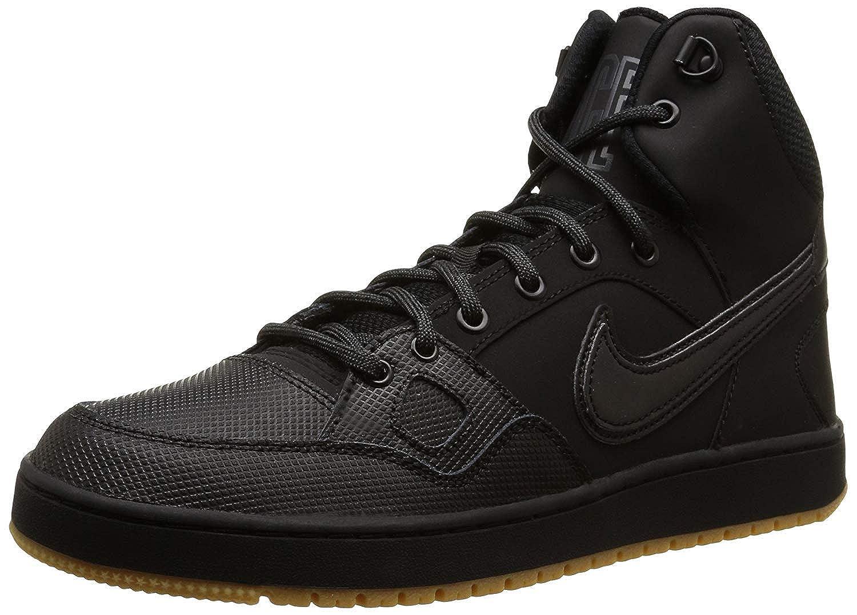 Nike Son of Force Mid, Chaussures Chaussures Mid, de Sport Homme 40 EU|Noir (Black/Black 012) af140e