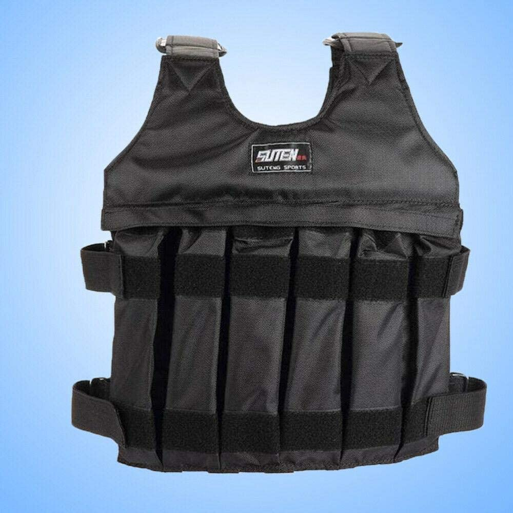 44lbs-110lbs Adjustable Weighted Workout Weight Vest Training Fitness Empty