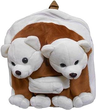 Pearl World Twin Teddy Bag cm 36