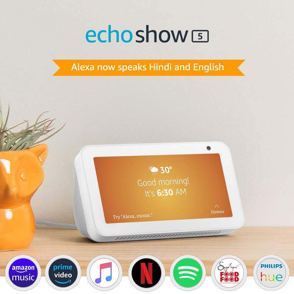 Echo Show 5 – Smart display with Alexa