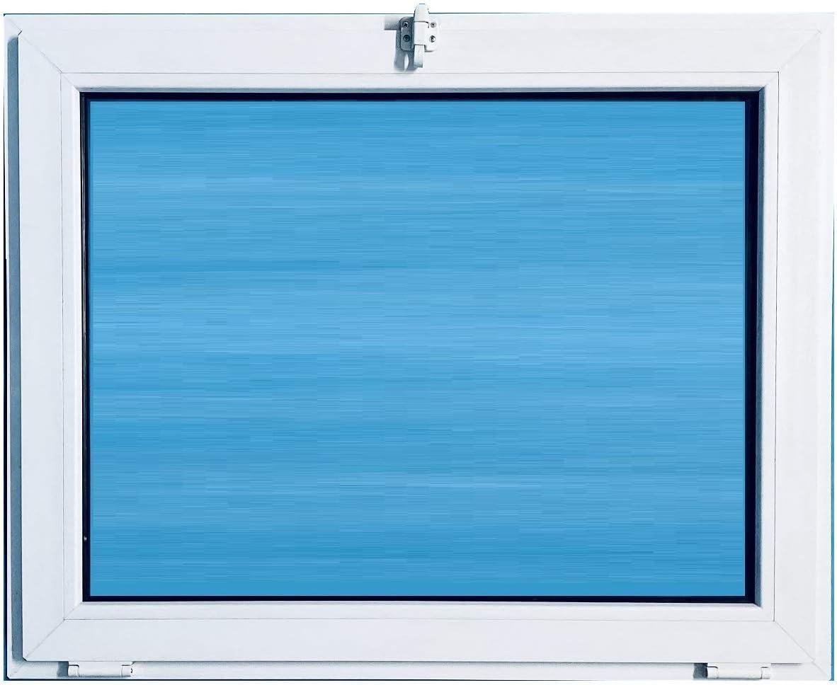 ECO-BLU V10T Ventana Pvc 1000x800 Golpete Abatible Climalit, Blanco