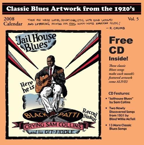 2007 And 2008 Calendar - Classic Blues Artwork 1920's Calendar 2008 by Various Artists (2007-08-21)
