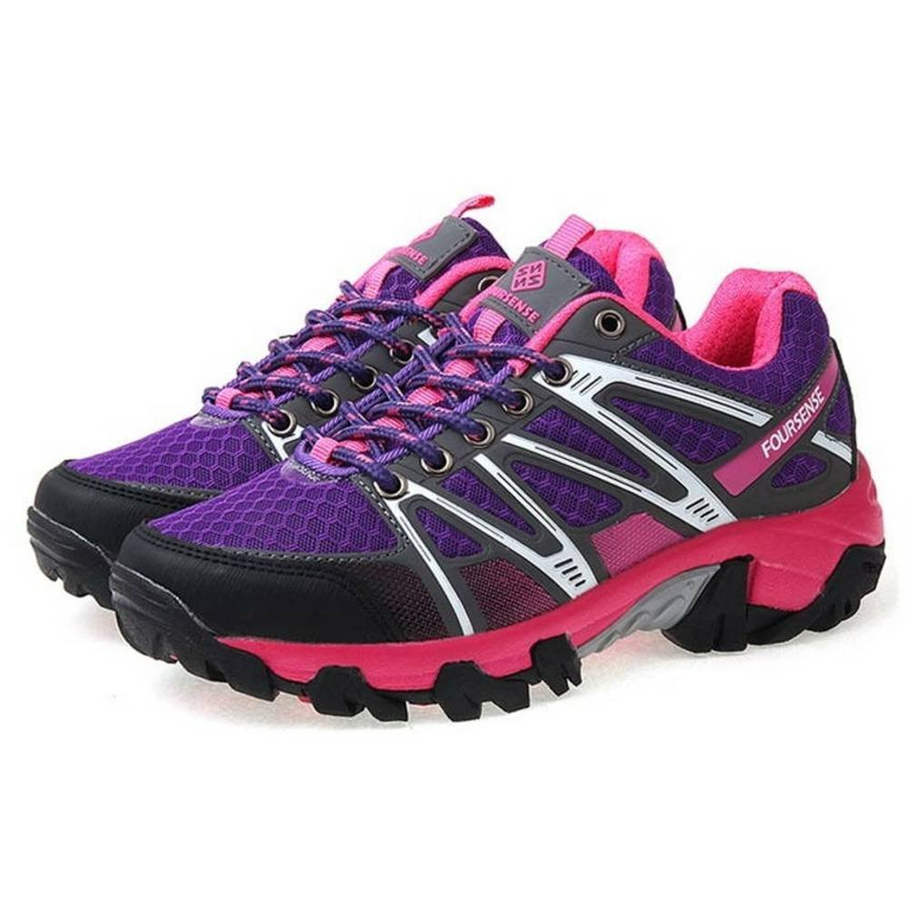 EpicStep Women's Athletic Sports Outdoor Hiking Trekking Walking Trail Mountaineering Trainers Shoes B0739JZJV7 6.5 B(M) US|Purple