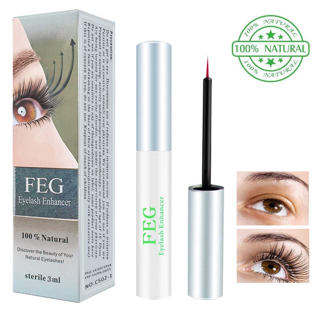 92b38bc1dbe Eyelash Serum Lash Enhancer Serum, Aibeau Eyelash Booster for Longer,  Darker & Thicker - Irritation Free Formula Lash Advanced - 3ml Eyelash  Growth Serum