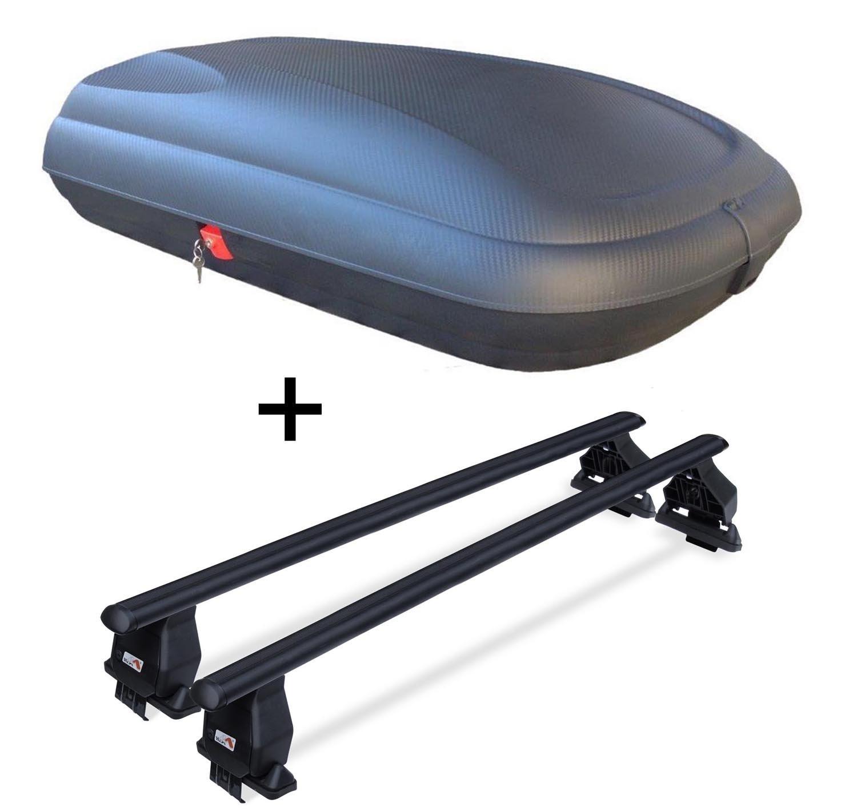 coffre de toit vdpba320 320 l look carbone verrouillable barres de toit acier menabo tema pour. Black Bedroom Furniture Sets. Home Design Ideas
