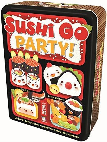 Devir - Sushi Go Party: edición en Castellano, Juego de Mesa ...