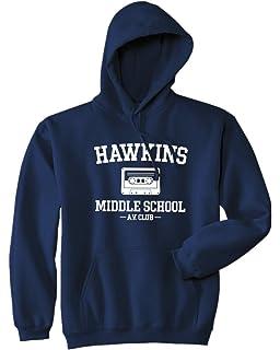 Mars NY Hawkins - Sudadera con Capucha para Colegio Mediano, diseño de Club AV –