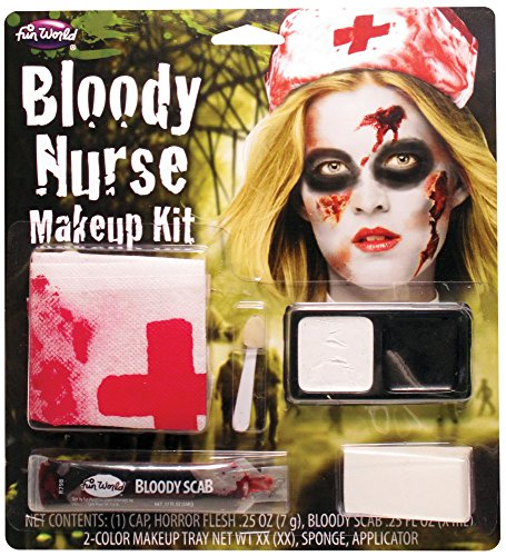 Fun World Women's Bloody Nurse Horror Charac.kit, Multi, -