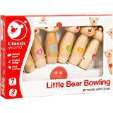 Classic World Little Bear Bowling, Multi Color