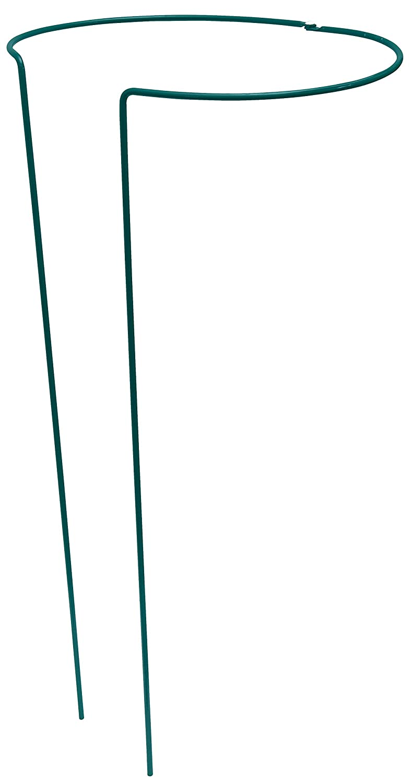 Strauchstütze 55 cm grün vollrund verstellbar Pflanzstütze Rankhilfe Pflanzstab