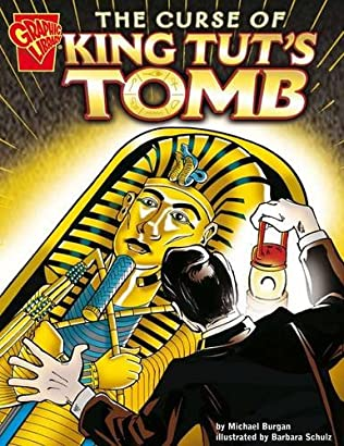 book cover of The Curse of King Tuts Tomb