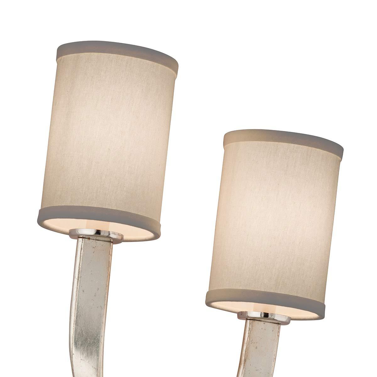 Amazon.com: Corbett iluminación 158 – 11 Roxy 2 luz 12