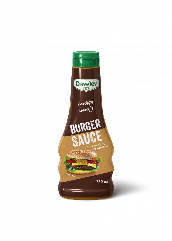 Develey Süßsauer Sauce zum Dippen (250ml Flasche): Amazon.de ...