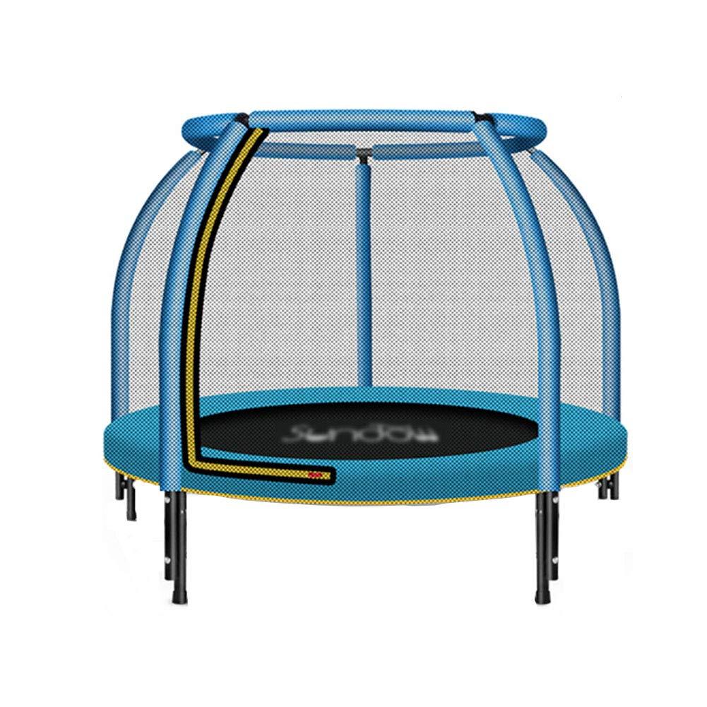 48 Zoll Trampoline Fitness mit Sicherheit Pad Max Belastung 330lbs, Tragbare Jumping Bett Cardio Workout Fitness Erwachsenen Übung Ausrüstung