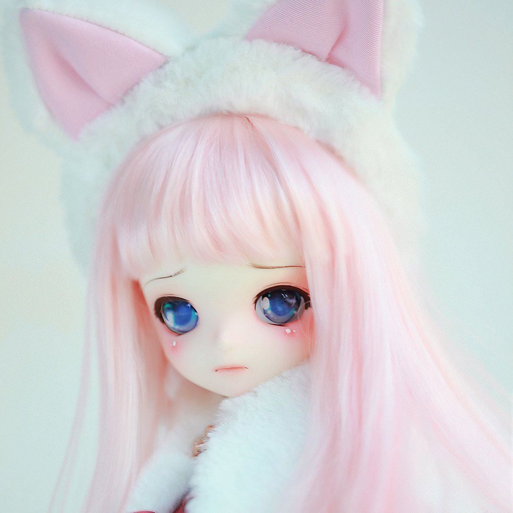 1//3 Bjd Doll Girl DOD Shall Free Face Make UP+Free Eyes+Free DHL