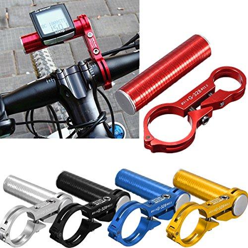Bazaar Bicyclette guidon aluminium support informatique extender lampe de poche