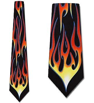 Corbata De Hombre Corbata,Hot Rod Flame Tie Corbata Para Hombre ...