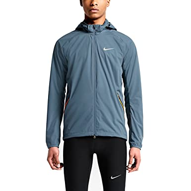 Amazon.com: Nike Shield Light Running Jacket (Mens): Clothing