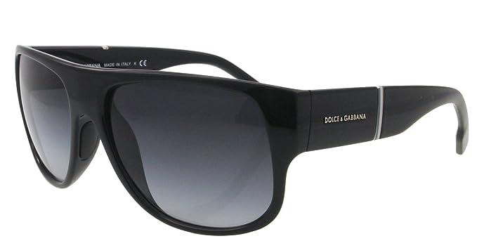 DOLCE & GABBANA Gafas de sol DG 6061 501/8G Negro 58MM ...