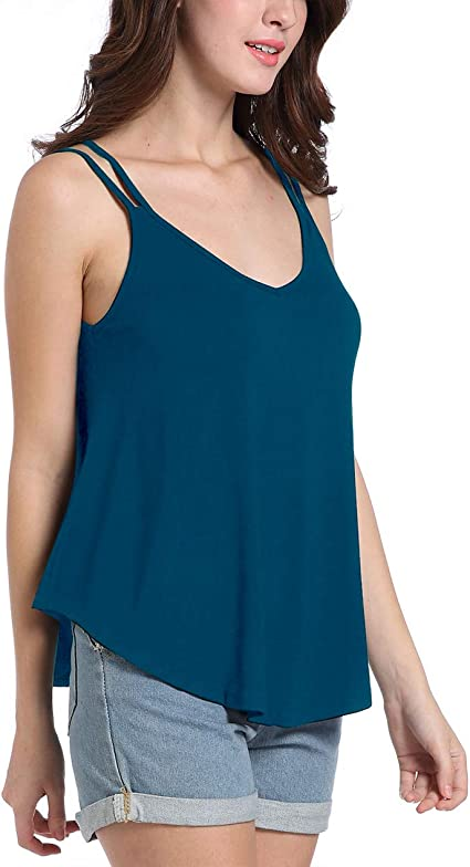 Free Amazon Promo Code 2020 for Womens Tank Tops Loose Casual Sleeveless Vests