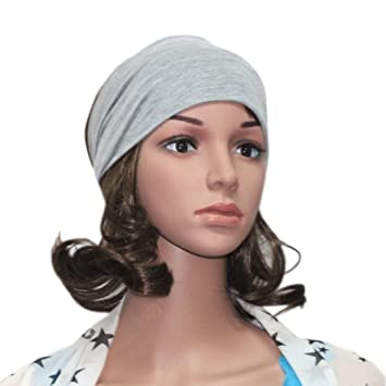 5b892d0cc1a Amazon.com   Caopixx Elastic Yoga Sports Headbands For Women Hair  Accessories Turban Headwear Athletics Hair Band (K)   Beauty