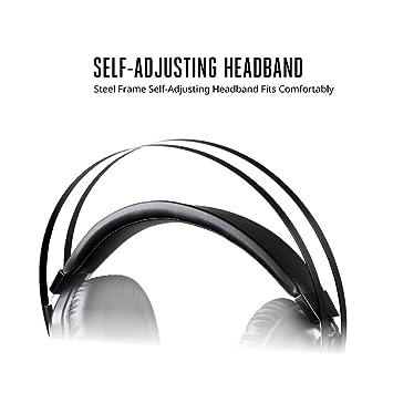 Amazon.com: Cooler Master MH-320 MasterPulse MH320 Gaming Headset, 3.5mm, Self-Adjusting Headband, Amped Mic, Volume Control: Computers & Accessories