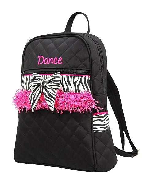 de74cc42b0b4 Amazon.com  Sassi Designs Child s Small Zebra Dance Backpack Size ...
