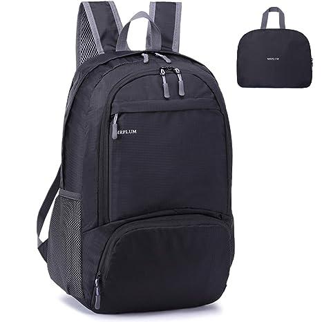 9a4bd1687e MRPLUM 25L-30L Rucksack Foldable Ultralight Packable Backpack ...