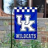 #7: Kentucky Wildcats Checkerboard Garden Flag