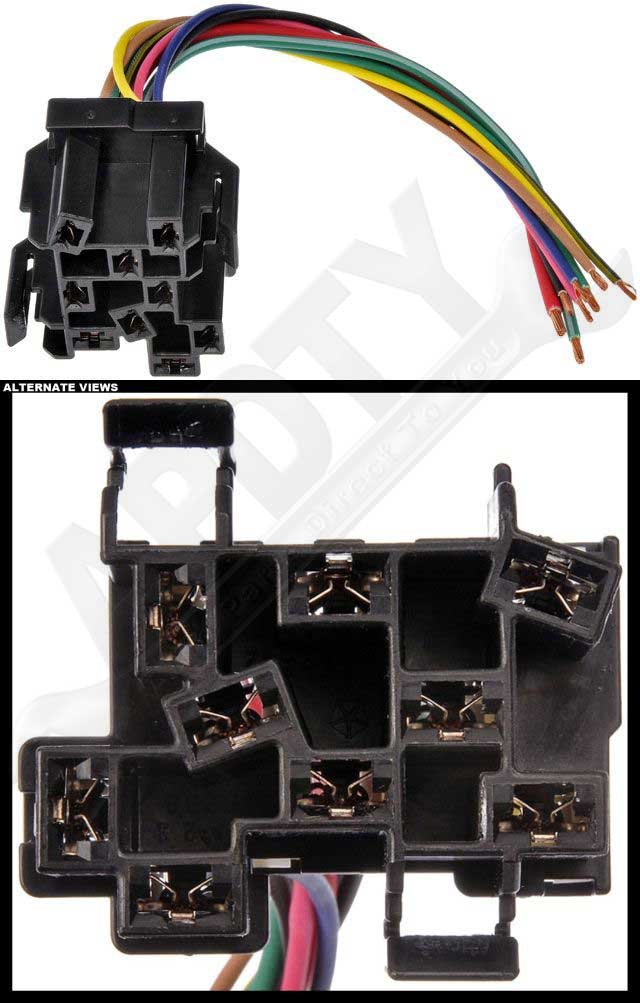 133905 Headlight Switch Electrical Wiring 9wire Harness Pigtail Connector Fits 19922001 Jeep Cherokee Xj 9700 Wrangler 9498 Dodge Ram 1500: 1997 Dodge Ram 1500 Headlight Switch Wiring Harness At Jornalmilenio.com