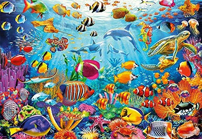 Buffalo Games - Reef Rush Hour - 2000 Piece Jigsaw Puzzle
