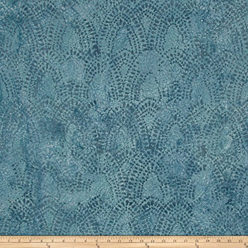 Textile Creations Indian Batik Arches Blue Fabric by The ()