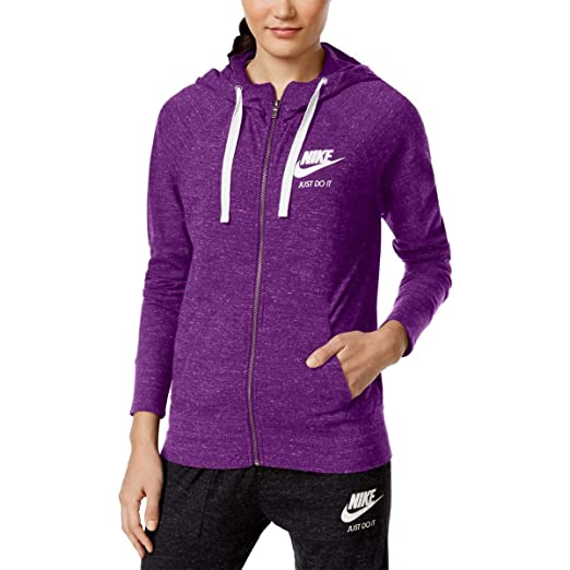 989bce7b0e Amazon.com  NIKE Womens Plus Fitness Running Athletic Jacket Purple 1X   Sports   Outdoors