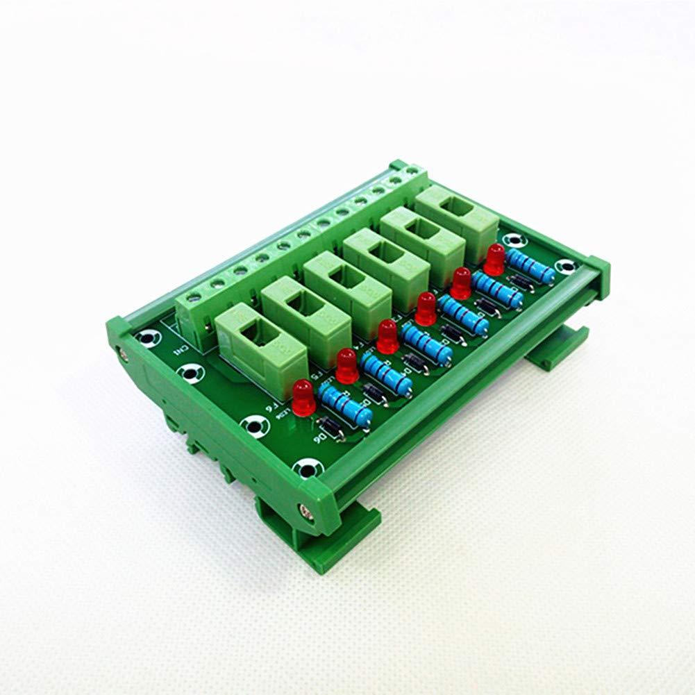 Fuse Module,6 Channel Fuse Panel Mount Power Distribution Module Board.