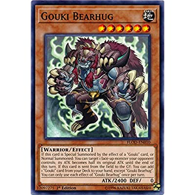 Gouki Bearhug - FLOD-EN010 - Common - 1st Edition - Flames of Destruction: Toys & Games