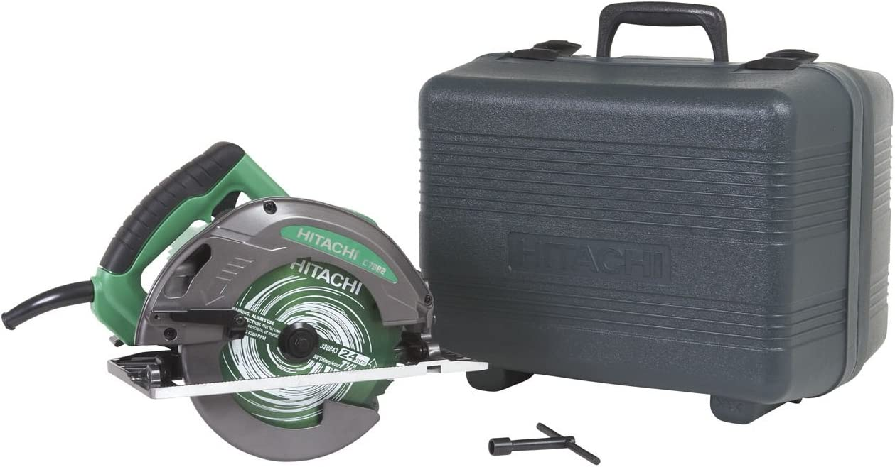 Hitachi C7SB2 15 Amp 7-1 4-Inch Circular Saw with 0-55 Degree Bevel Capacity