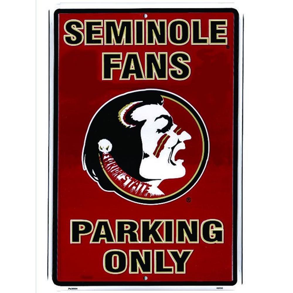 Signs 4 Fun Spcfls Florida State Seminoles Fan Large Parking Sign