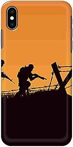 كفر حماية نحيف وخفيف بتصميم   لجوال ابل ايفون اكس & اكس اس  بواسطة اوكتيك
