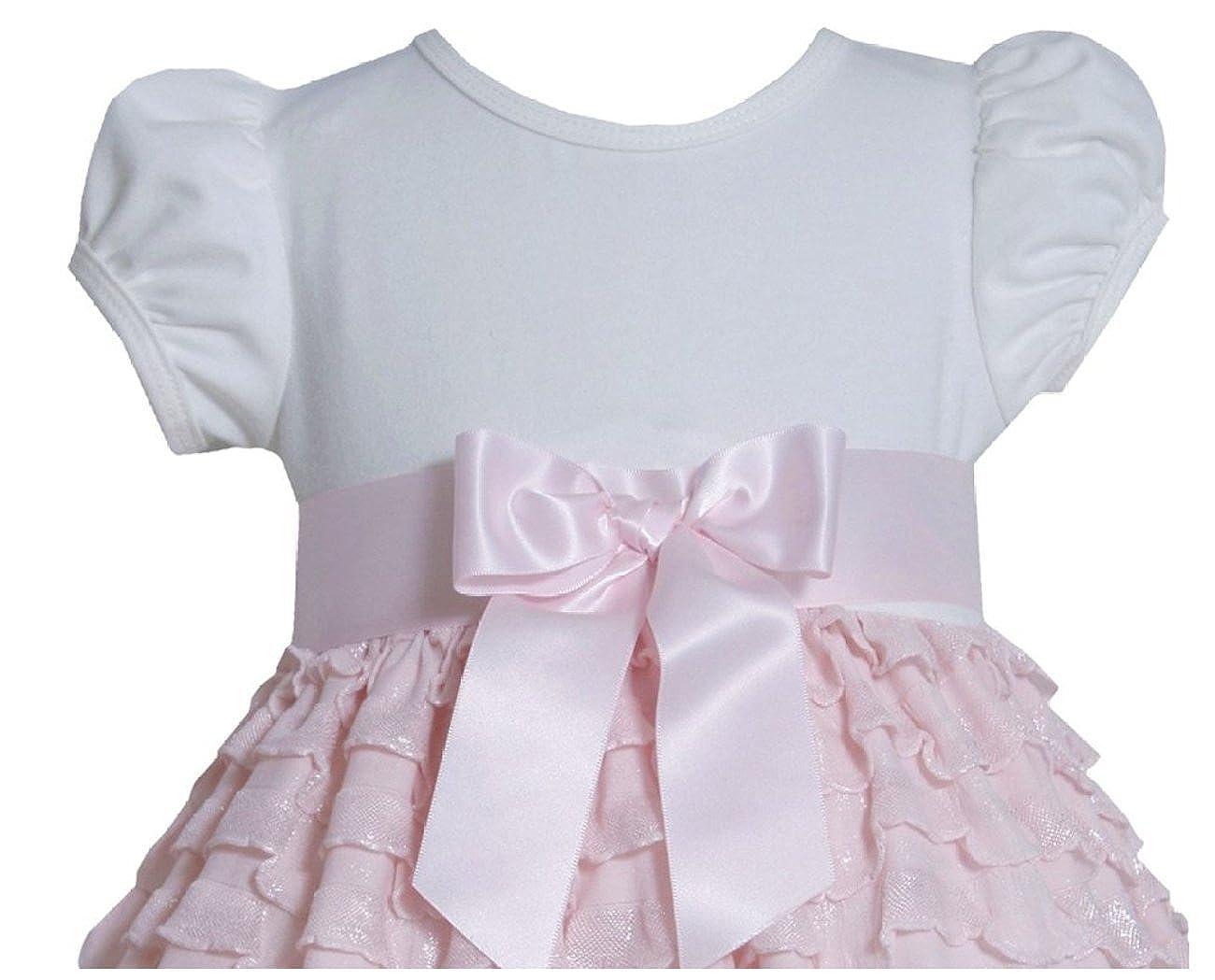 Bonnie Baby Baby-girls 24 Months Dress with Eyelash Skirt