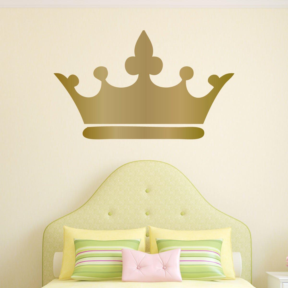 Amazon.com: Princess Crown Wall Decal - Vinyl Decorative Sticker ...