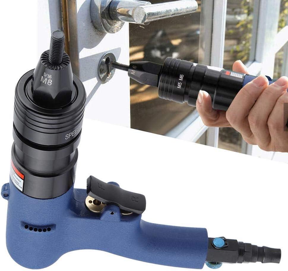 Wandisy Pistolet /à Riveter Pistolet /à Riveter pneumatique pour riveteuse pneumatique M8-M10