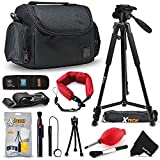 "Premium Well Padded Camera CASE / BAG and Full Size 60"" inch TRIPOD Accessories KIT for Canon EOS Rebel T6i T6S T5i T5 T4i T3i T3 T2i SL1 EOS 70D 60D 7D 6D 5D 5DS, 5DS R, 7D Mark II 8000D 760D 750D 700D 650D 600D 550D 1200D 1100D 100D EOS M, EOS M3, EOS"