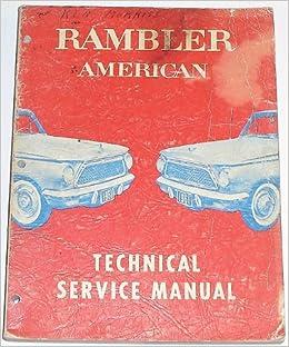 1960 AMC Rambler American Owner Manual User Guide