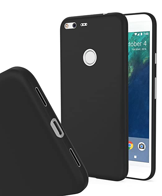 the best attitude 928da c4d0e Google Pixel XL MNML Thin Case (Solid Black)
