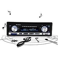 Sannysis Auto radio Bluetooth estéreo Unidad Jefe