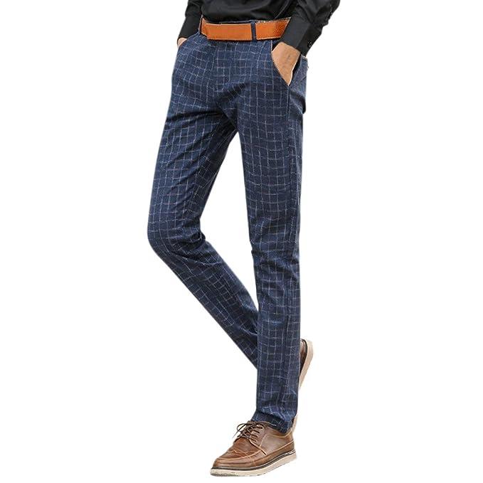 Targogo Pantalones Casuales De Los Hombres Pantalones Chinos ...
